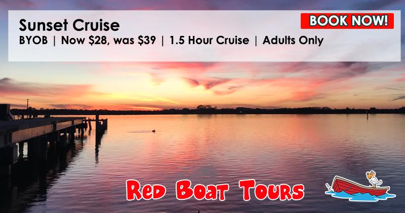 SUNSET CRUISE REDBOAT TOURS 2021